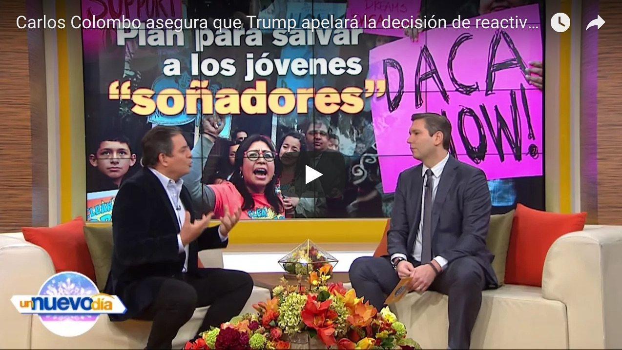 Carlos Colombo asegura que Trump apelará la decisión de reactivar el programa de DACA
