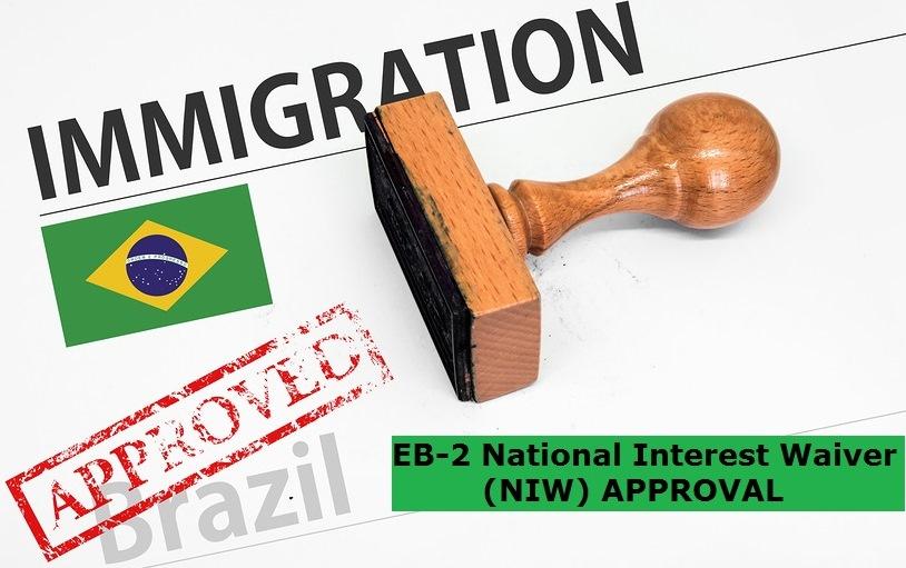 EB2 National Interest Waiver Aprovado: Mais um Cliente Recebe Aprovação do Visto EB2 NIW em apenas nove meses