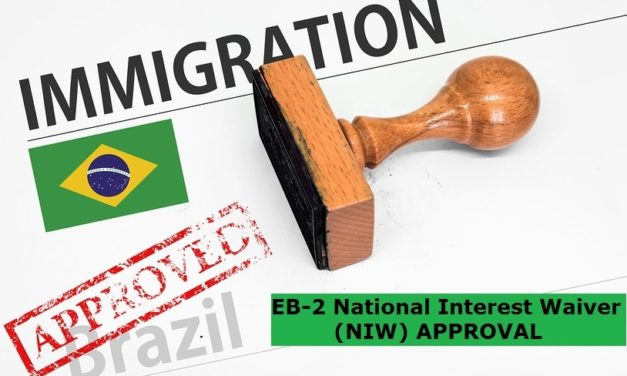 EB2 National Interest Waiver Approved: Another Client Receives Approval of an EB2 NIW after Nine Months