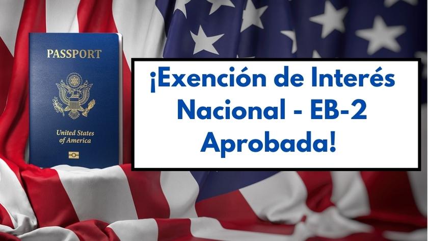 Exención de Interés Nacional EB2 Aprobada para Consultor de Recursos Humanos